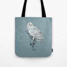 Secrets of the Snowy Owl Tote Bag