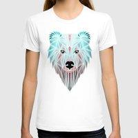 polar bear T-shirts featuring polar bear by Manoou