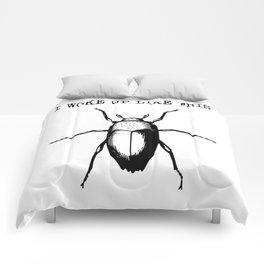 I Woke Up Like This - Gregor Samsa Comforters
