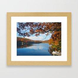 Autumn at Lake Killarney Framed Art Print
