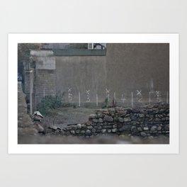 Parking Spot Art Print