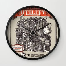 Extraordinarily Useless Utility Wall Clock