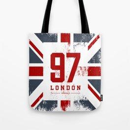 Vintage London Tote Bag