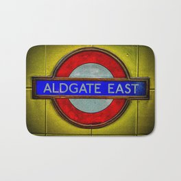 Aldgate East London Bath Mat