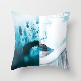 what did you do last night ?  Throw Pillow