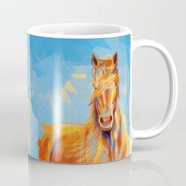Obedient Spirit - Horse portrait Coffee Mug