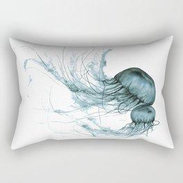 Emerald Waltz, Pacific Sea Nettle Rectangular Pillow