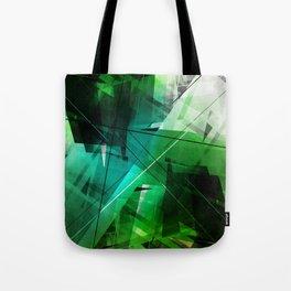 Jungle - Geometric Abstract Art Tote Bag