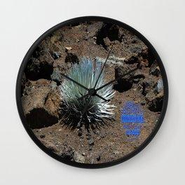 """""""Ahinahina"""" An original   don't be a copy Wall Clock"""