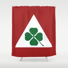 Quadrifoglio Classic Shower Curtain
