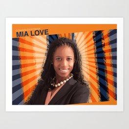 Congresswoman Mia Love Art Print