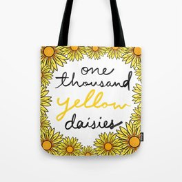 One Thousand Yellow Daisies Tote Bag