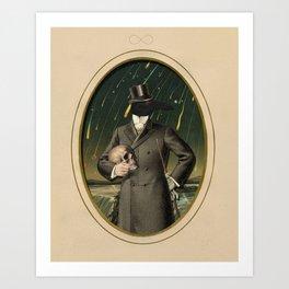 The Gentleman Caller II Art Print