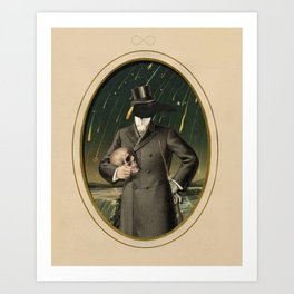 The Gentleman Caller II Art Print