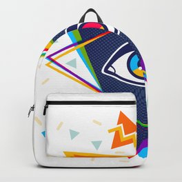 Pyramid with eye Backpack