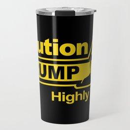 Caution - Trump Travel Mug