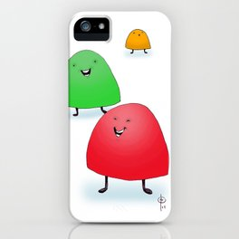 Holiday Gumdrops iPhone Case