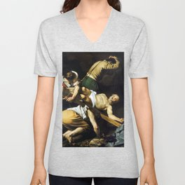 Caravaggio Crucifixion of Saint Peter Unisex V-Neck