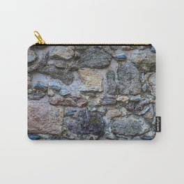 Cliff Stones Wall Texture Carry-All Pouch