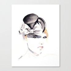 Ella Gajewska Hat. Top Hat. Fashion Illustration Canvas Print