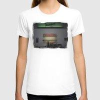 bar T-shirts featuring Vespa Bar by Rainer Steinke