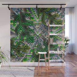 Botanical Boho Pattern Wall Mural