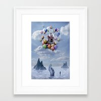 castle Framed Art Prints featuring Sweet Castle by teddynash