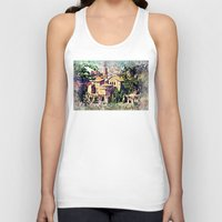 rome Tank Tops featuring Rome architecture by jbjart