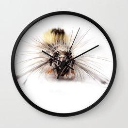 Catepillar on my table Wall Clock