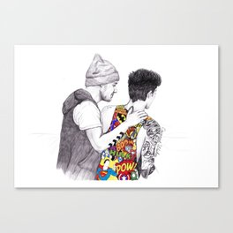 Ziam Love Canvas Print