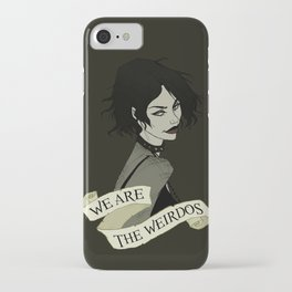 We Are the Weirdos iPhone Case