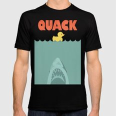 Jaws Rubber Duck Black MEDIUM Mens Fitted Tee