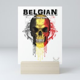 To The Core Collection: Belgium Mini Art Print
