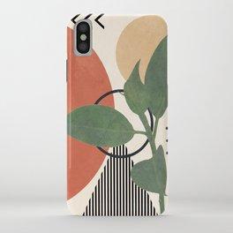 Nature Geometry III iPhone Case
