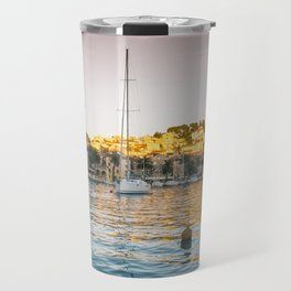 Hvar - sunset - Travel Mug