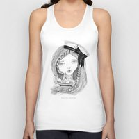 ships Tank Tops featuring Loose Lips Sink Ships by Kirbee Lawler