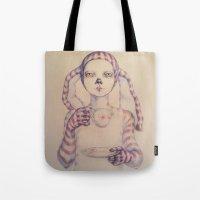 tea Tote Bags featuring Tea? by Zina Nedelcheva