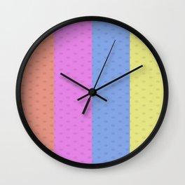 Polka Dot Wall Clock