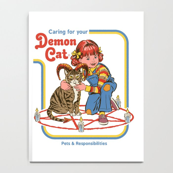 Caring for your Demon Cat Notebook