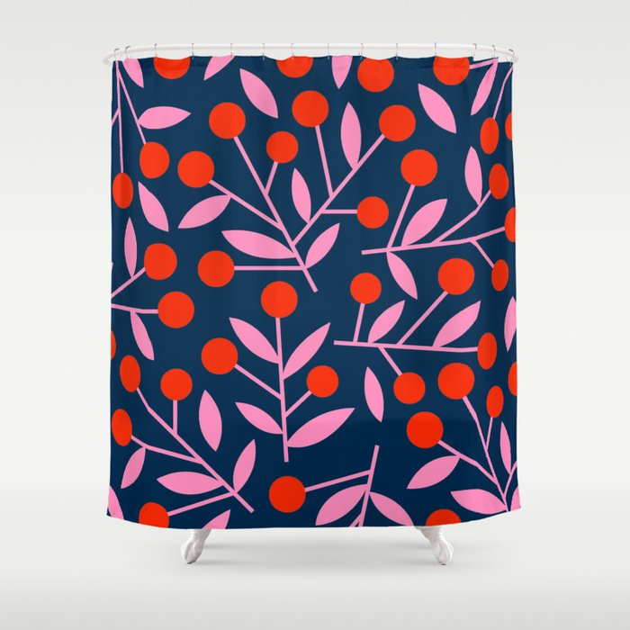Cherry_Blossom_03 Shower Curtain