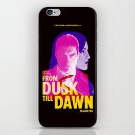 From Dusk Till Dawn II - Richie & Santanico iPhone Skin