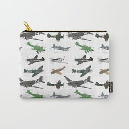 Multiple WW2 Airplanes Carry-All Pouch