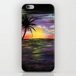 Sunset Sea iPhone Skin