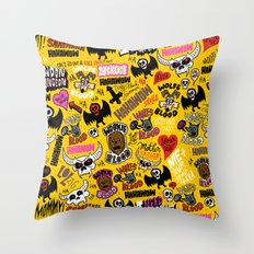 LOLzig Pattern Throw Pillow