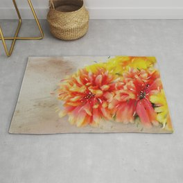 Burst of Autumn Rug