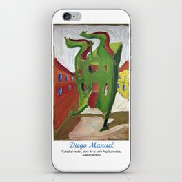 Catedral verde by Diego Manuel. iPhone Skin