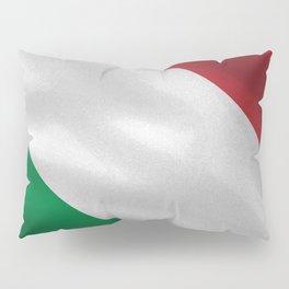 Italy acock flag Pillow Sham