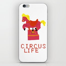 circus life iPhone Skin