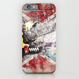 Rock guitar iPhone Case