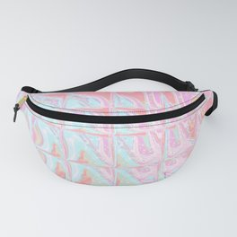 Square Glass Tiles 38 Fanny Pack